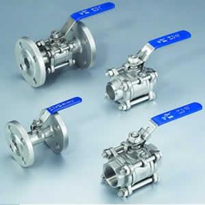 3-pcs ball valve