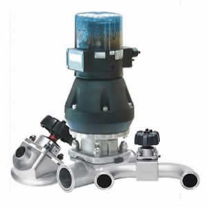 3-way direct way tank bottom valve