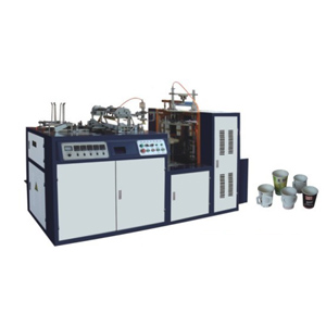 Automatic paper cup handle machine