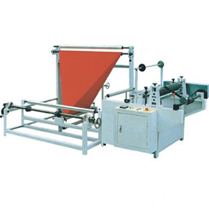 edge folding and winding machine