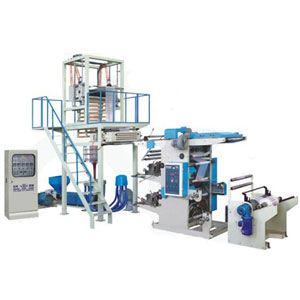 film blowing and printing line