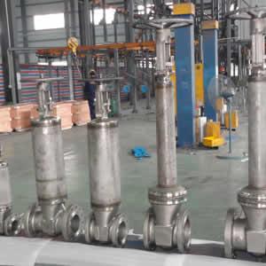 Globe valve 2in-8in 150LB RF flange end