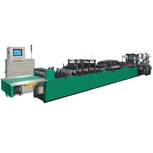 high-speed three side sealing bag-making machine