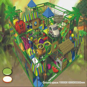 Indoor playground YY-8904