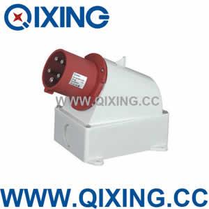 industrial wall mounted plug QX3608