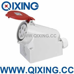 industrial wall mounted socket QX1557