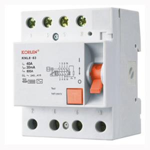 Residual Current Circuit Breakers(KNL8-63)