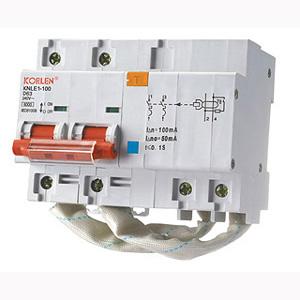 Residual Current Circuit Breakers (KNLE1-100)