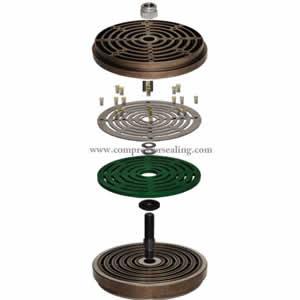 plate valve (PEEK valve plate)