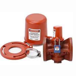 plug valve lockout