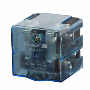 power relay jqx-72f 80a