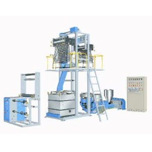 pvc shrink film blowing machine