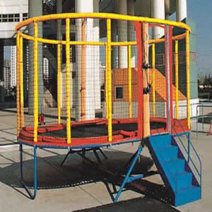 Rectangle trampoline YY-9108