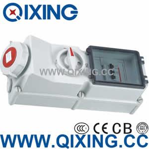 Reefer Interlock switch socket QX5946