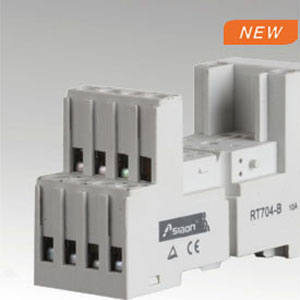 Relay socket RT704-B