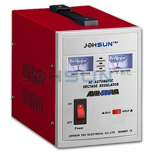 relay type voltage regulator avr-500va