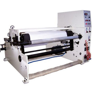 rewinder for paper adhesive tape film