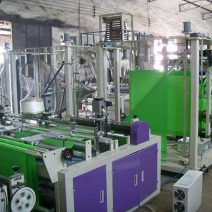 self stand up non woven bag making machines