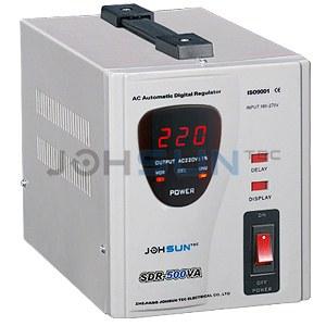 single phase voltage stabilizer sdr-500va