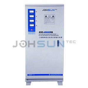 three phase voltage regulator svc-3p 40000va