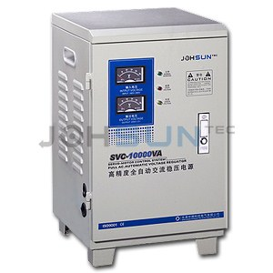 vertical voltage stabilizer svc-10kva