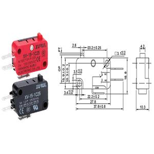 Micro Switch XV-15-1C25