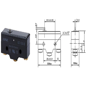 Micro Switch XZ-15G-B
