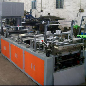 zipper non woven bag making machine